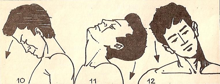 Растяжка мышц шеи