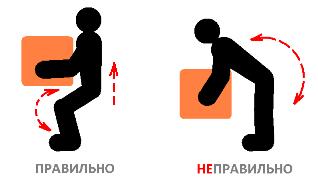 Как правильно поднисать тяжести