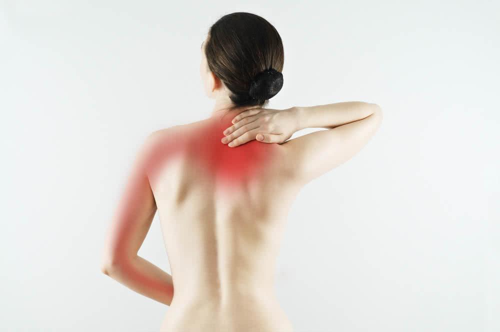 Зажаты мышцы спины и шеи