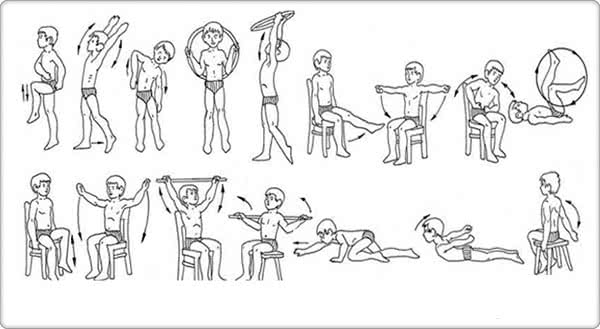 Гимнастика при болезни Бехтерева