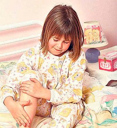Болят колени у ребёнка